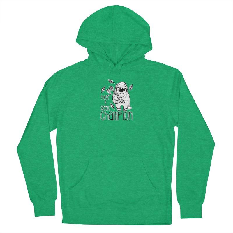 Hide and Seek Champ Men's Pullover Hoody by RockerByeDestash Market