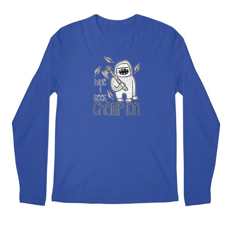 Hide and Seek Champ Men's Regular Longsleeve T-Shirt by RockerByeDestash Market