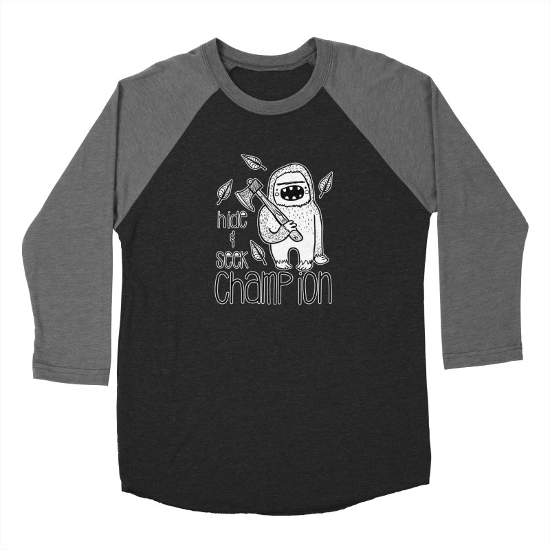 Hide and Seek Champ Women's Baseball Triblend Longsleeve T-Shirt by RockerByeDestash Market