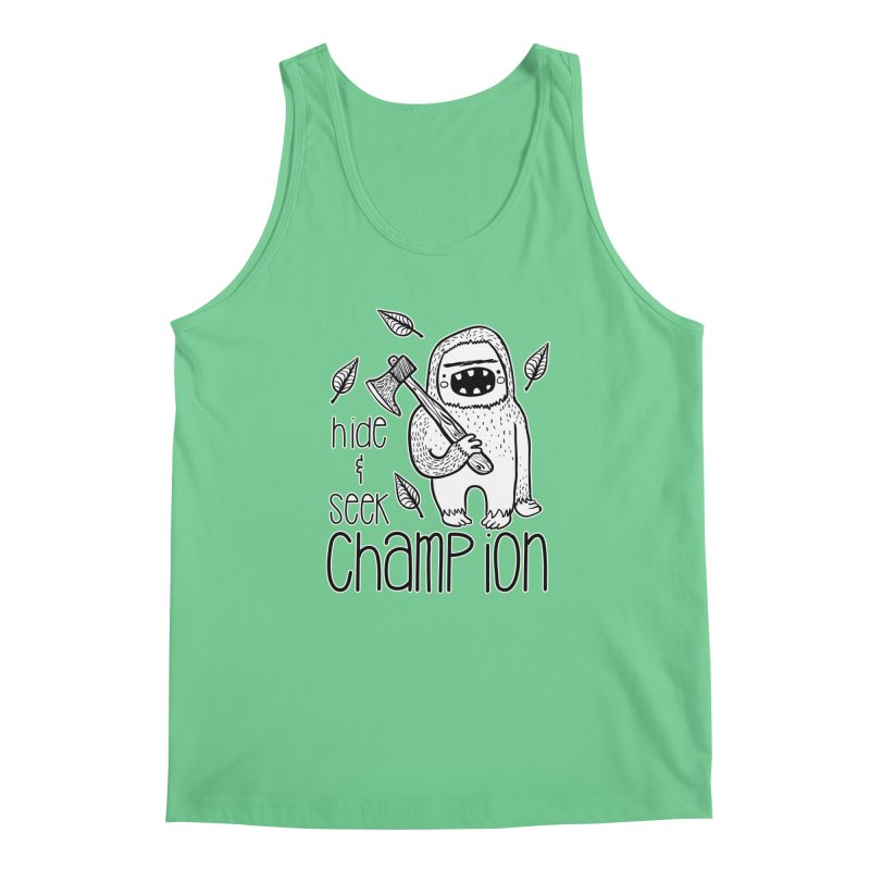 Hide and Seek Champ Men's Tank by RockerByeDestash Market