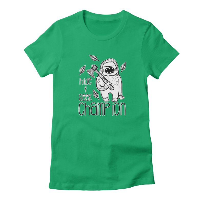 Hide and Seek Champ Women's T-Shirt by RockerByeDestash Market