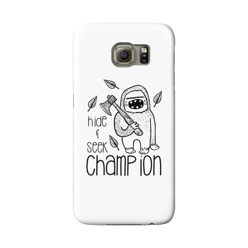 Hide and Seek Champ Accessories Phone Case by RockerByeDestash Market