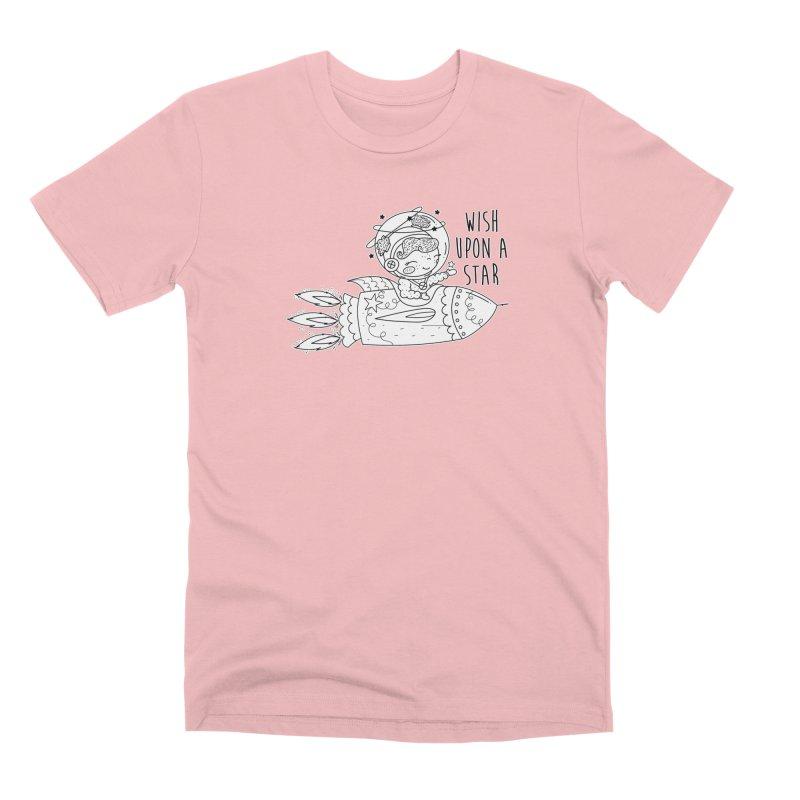 Rocket Girl Men's Premium T-Shirt by RockerByeDestash Market