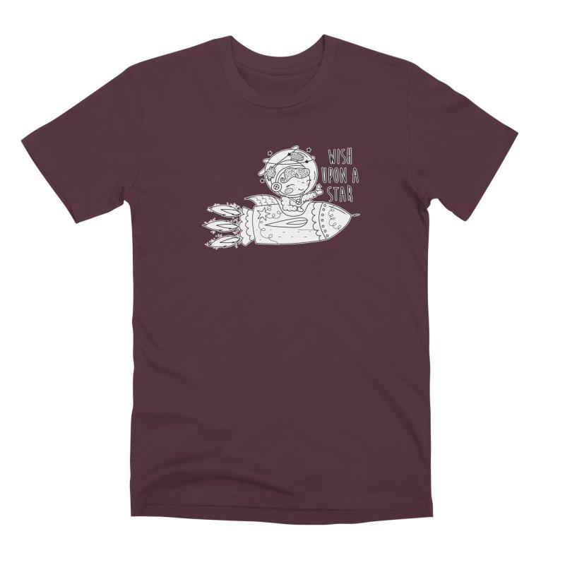 Rocket Girl Men's T-Shirt by RockerByeDestash Market