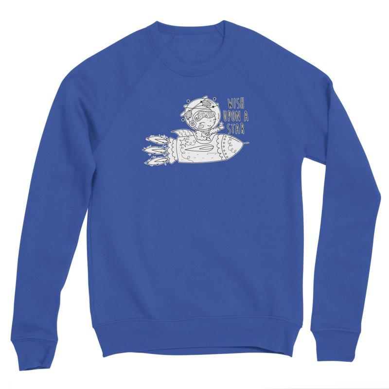 Rocket Girl Women's Sponge Fleece Sweatshirt by RockerByeDestash Market