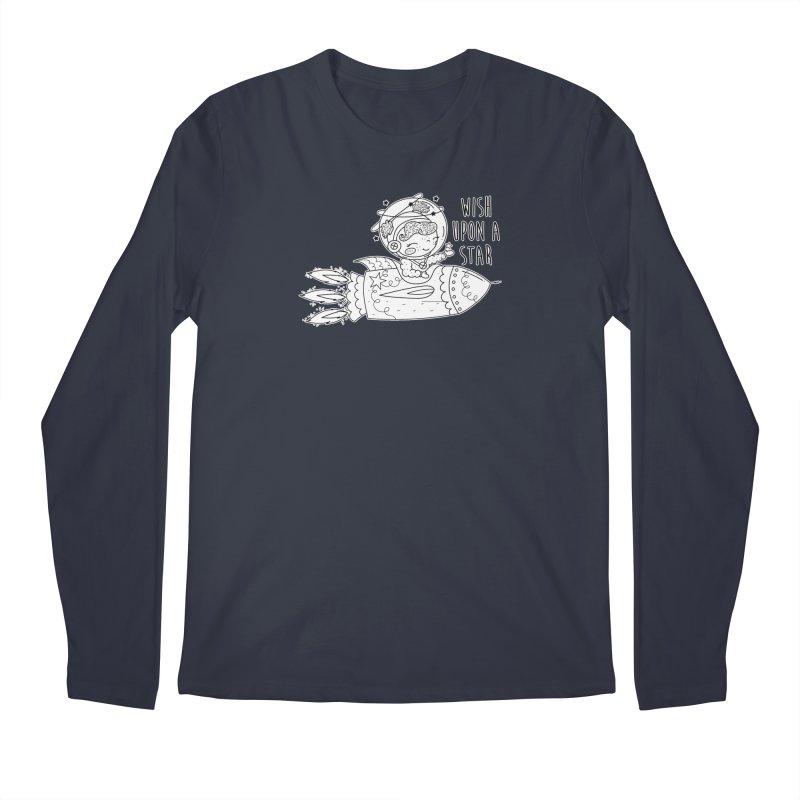 Rocket Girl Men's Regular Longsleeve T-Shirt by RockerByeDestash Market