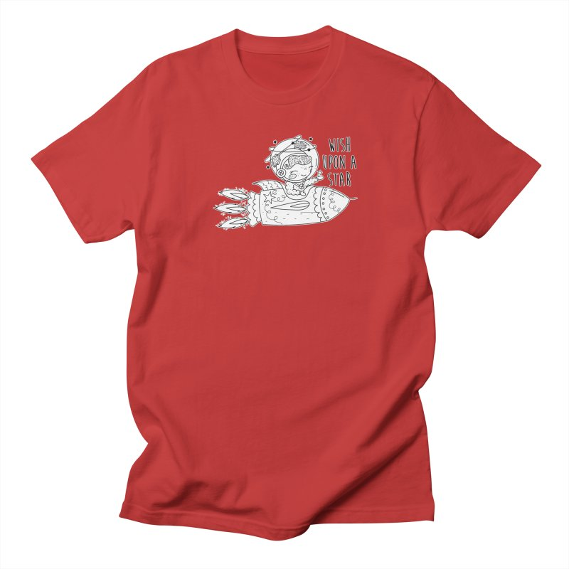 Rocket Girl Women's T-Shirt by RockerByeDestash Market