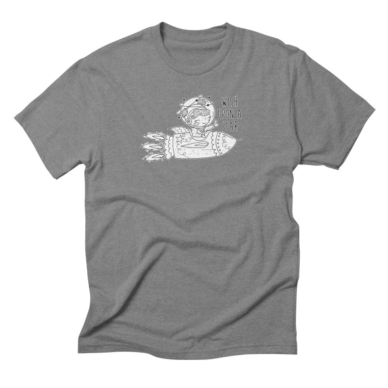 Rocket Girl Men's Triblend T-Shirt by RockerByeDestash Market