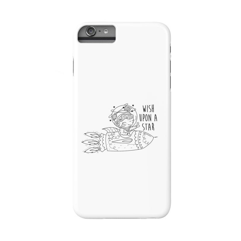 Rocket Girl Accessories Phone Case by RockerByeDestash Market