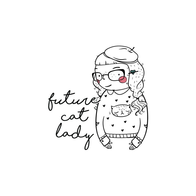 Future Cat Lady by RockerByeDestash Market