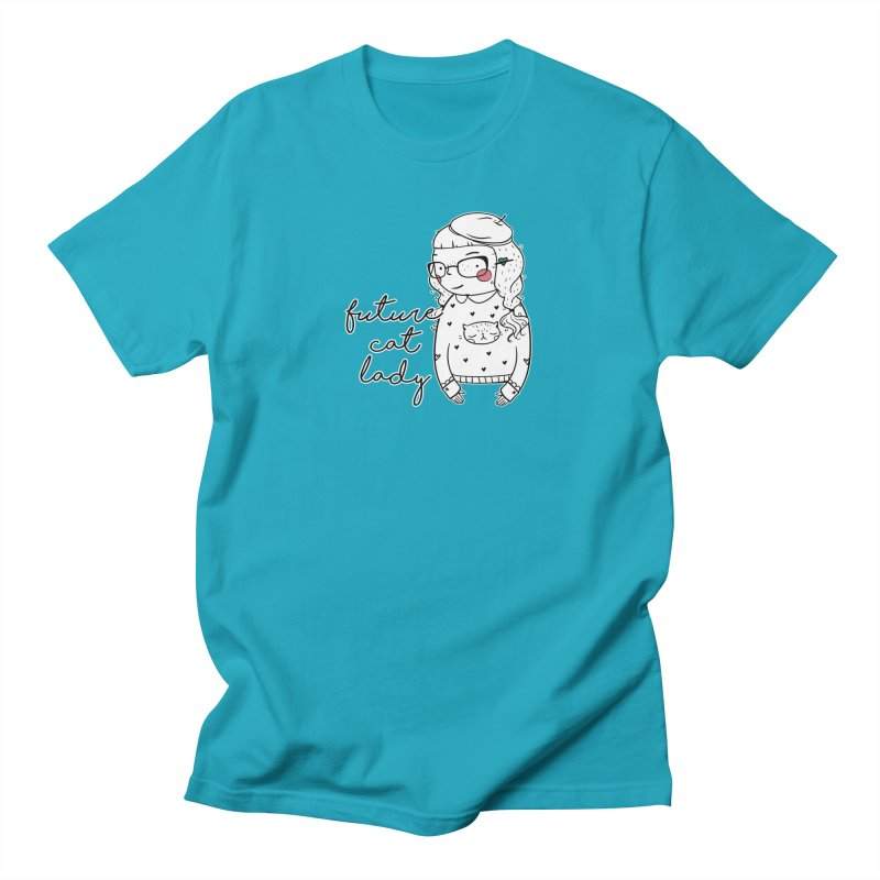 Future Cat Lady Women's T-Shirt by RockerByeDestash Market