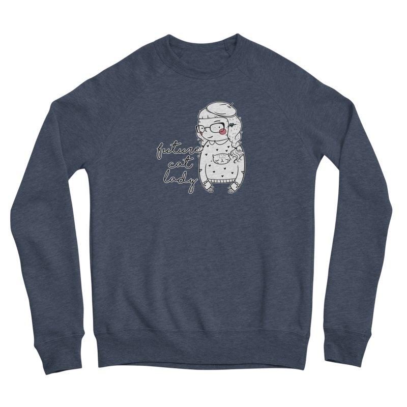 Future Cat Lady Women's Sponge Fleece Sweatshirt by RockerByeDestash Market