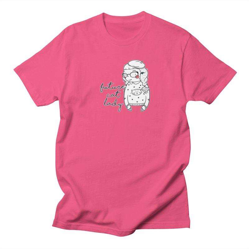 Future Cat Lady Men's T-Shirt by RockerByeDestash Market