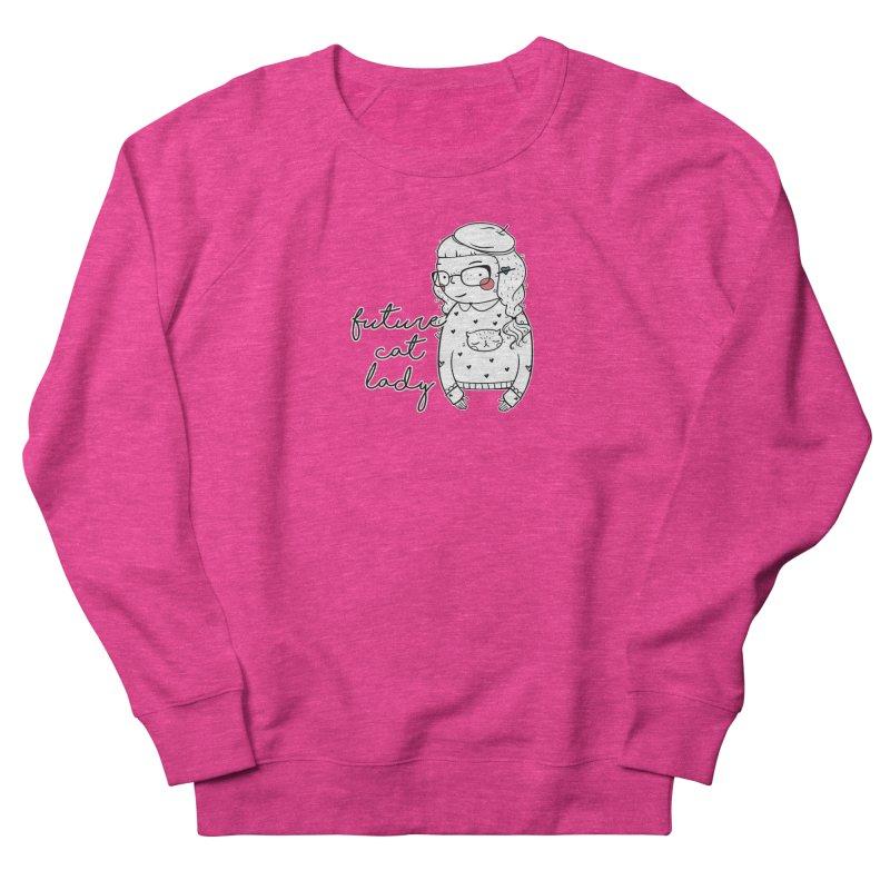 Future Cat Lady Men's Sweatshirt by RockerByeDestash Market