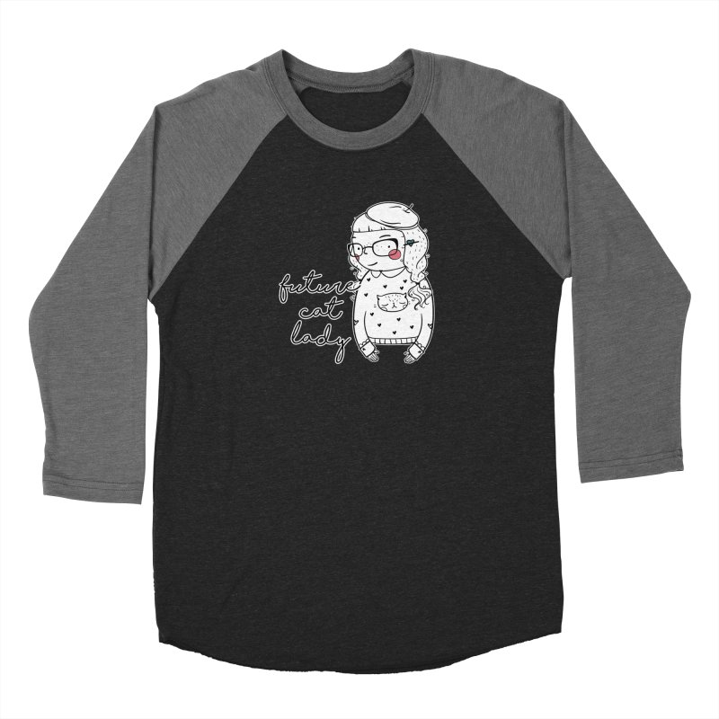 Future Cat Lady Women's Baseball Triblend Longsleeve T-Shirt by RockerByeDestash Market