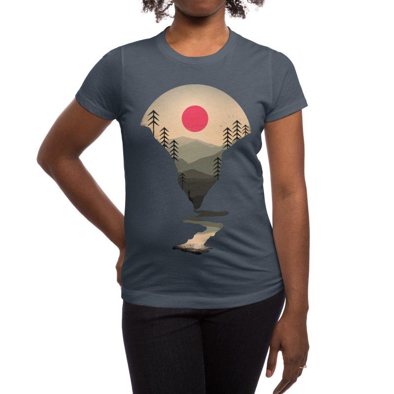 Exploring Earth Women's T-Shirt by Rocketman