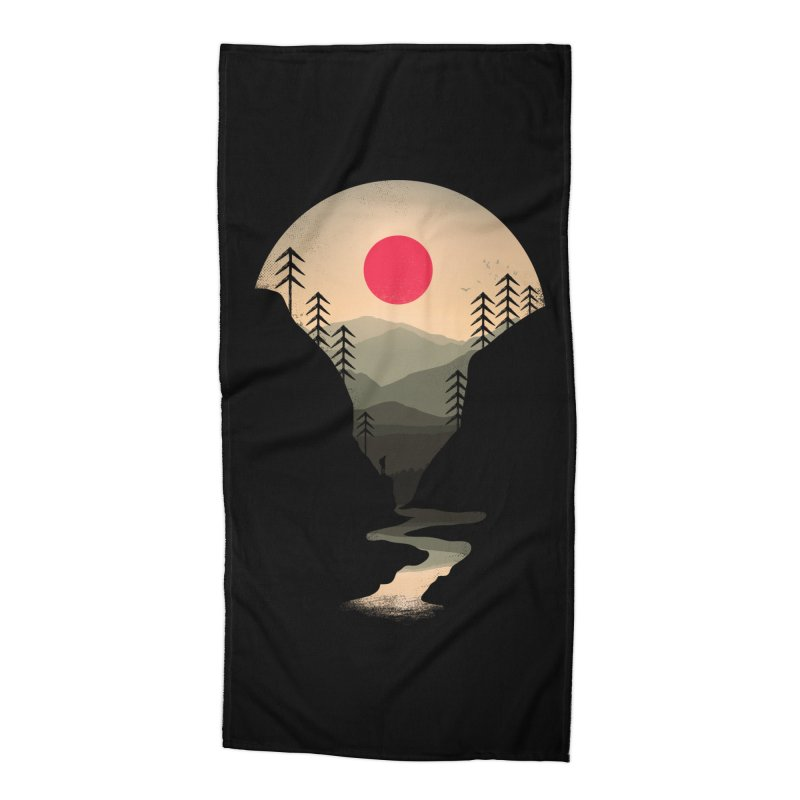Exploring Earth Accessories Beach Towel by Rocketman