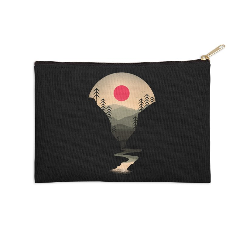Exploring Earth Accessories Zip Pouch by Rocketman