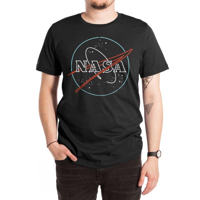 Beyond Earth Men's T-Shirt by Rocketman