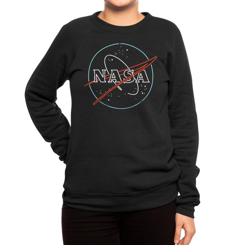 Beyond Earth Women's Sweatshirt by Rocketman