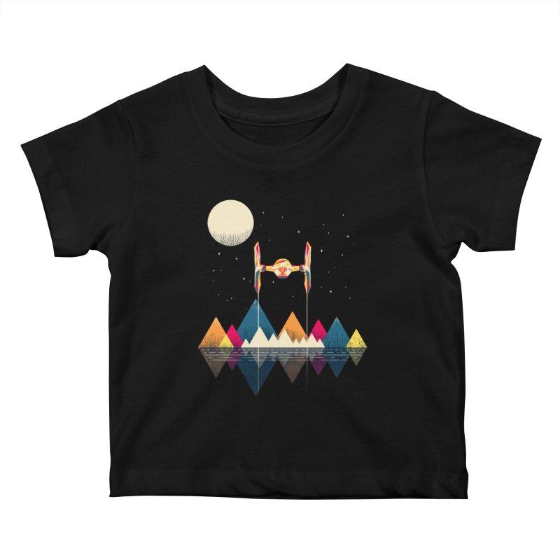Classic Fighter Kids Baby T-Shirt by Rocketman