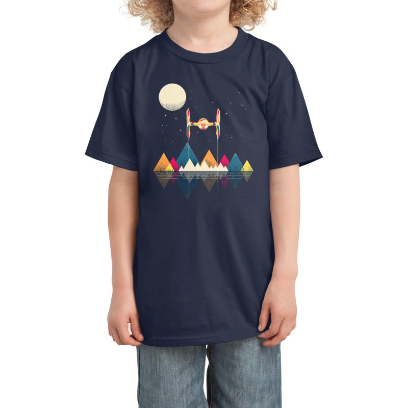 Classic Fighter Kids T-Shirt by Rocketman