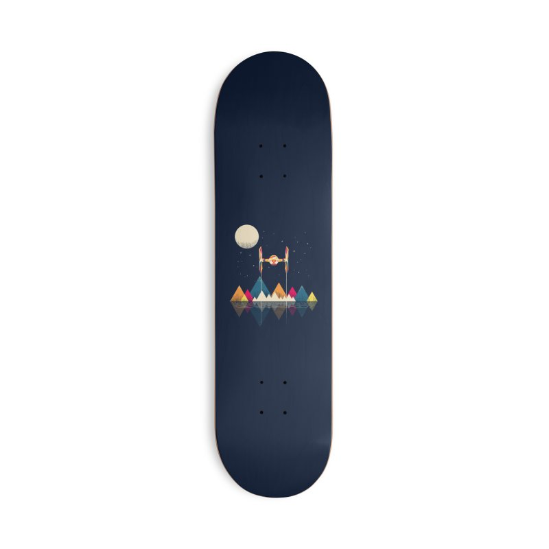 Classic Fighter Accessories Skateboard by Rocketman