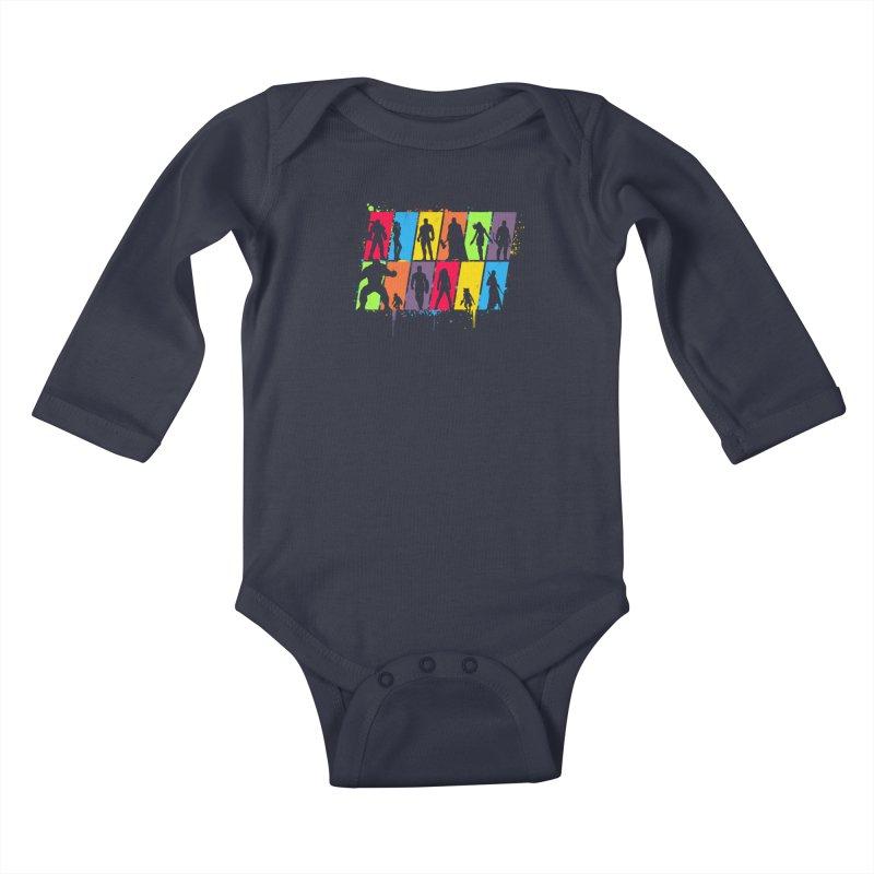 Whatever it takes Kids Baby Longsleeve Bodysuit by Rocketman