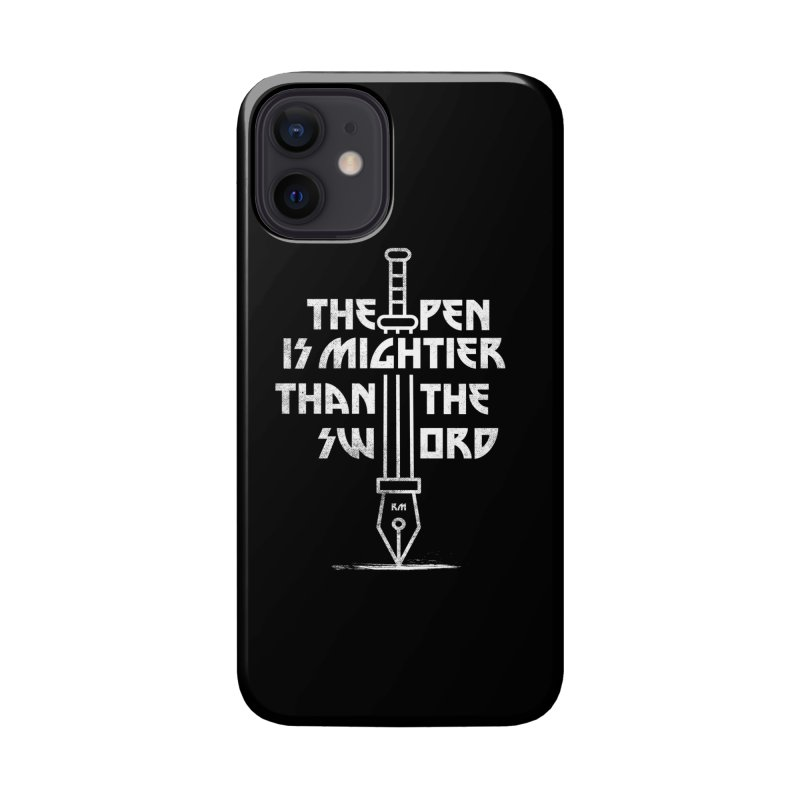 Pen is mighty Accessories Phone Case by Rocketman