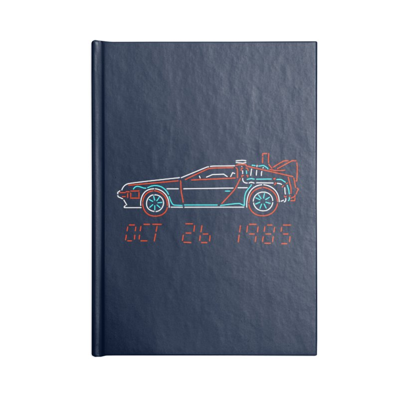 You built a time machine, out of a Delorean? Accessories Notebook by Rocketman