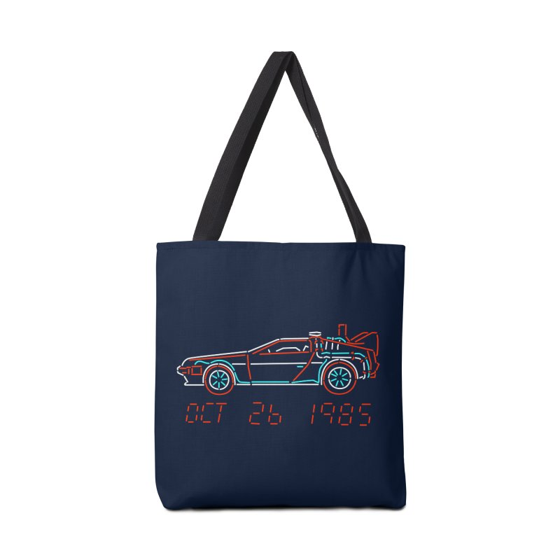 You built a time machine, out of a Delorean? Accessories Bag by Rocketman
