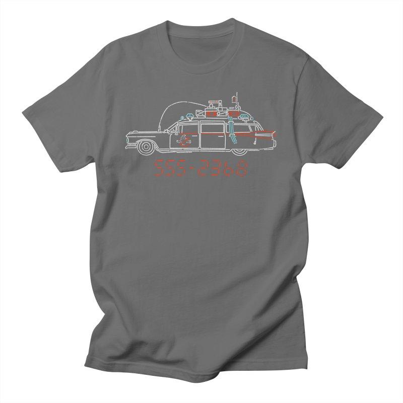 Who you gonna call? Men's T-Shirt by Rocketman