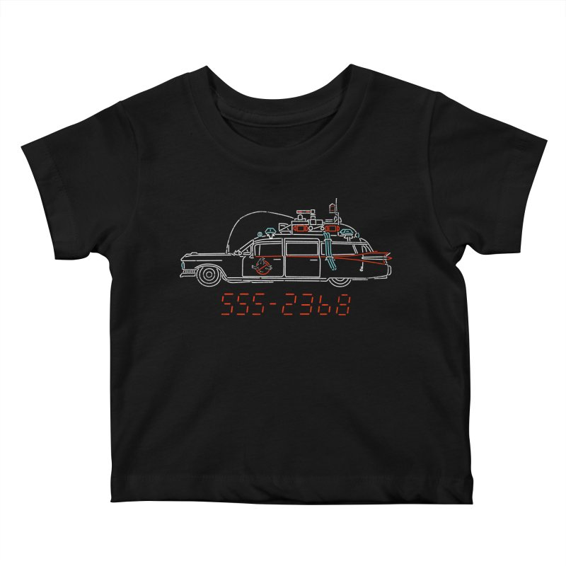 Who you gonna call? Kids Baby T-Shirt by Rocketman