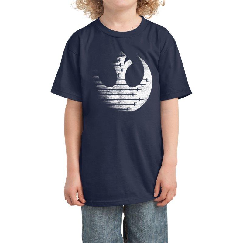 Rebel Forces Kids T-Shirt by Rocketman