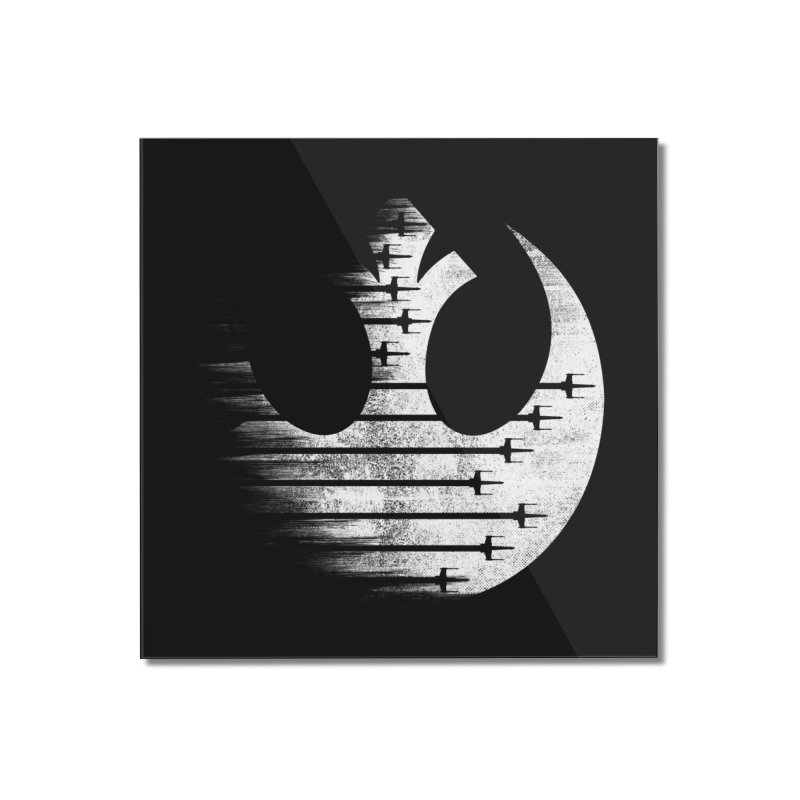 Rebel Forces Home Mounted Acrylic Print by Rocketman