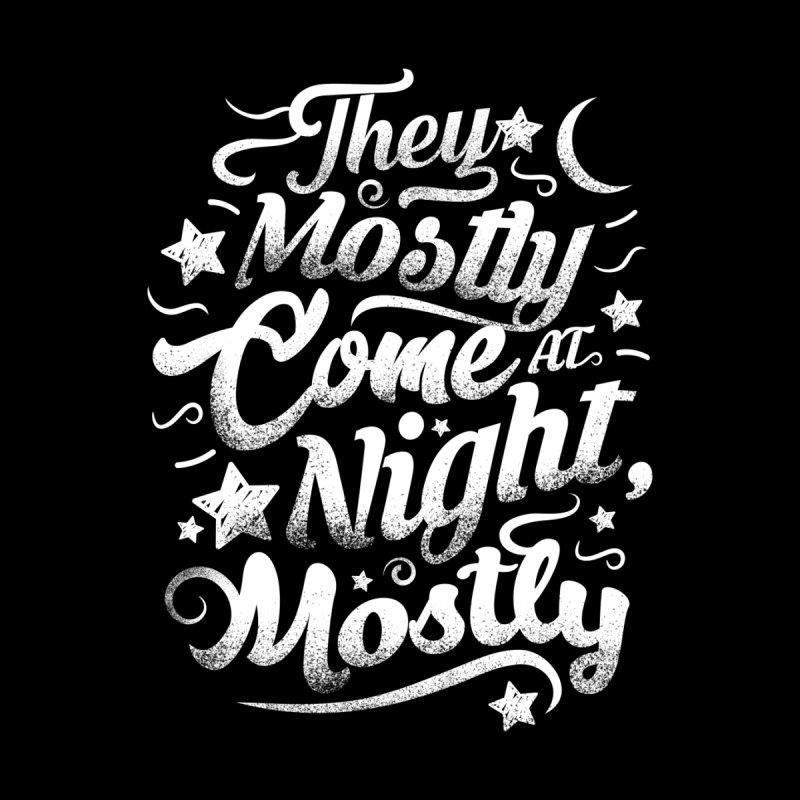 Mostly at night Men's Tank by Rocketman
