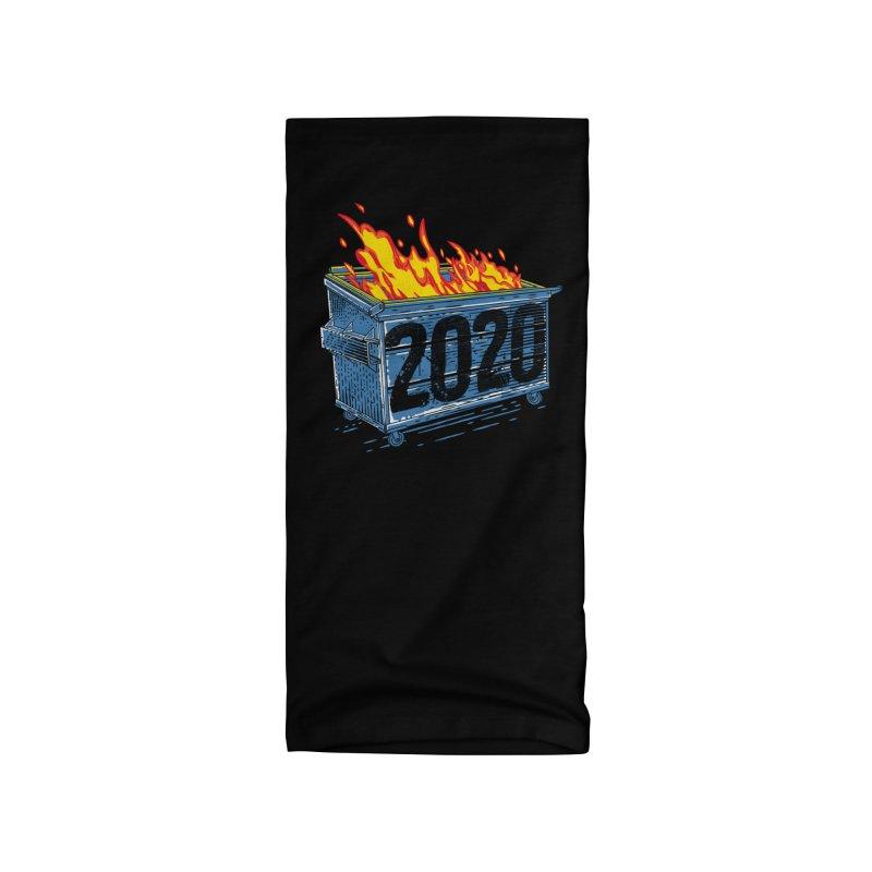 Dumpster Fire 2020 Accessories Neck Gaiter by Rocketman