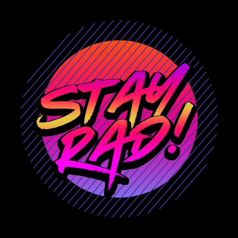 Stay Rad! Accessories Neck Gaiter by Rocketman