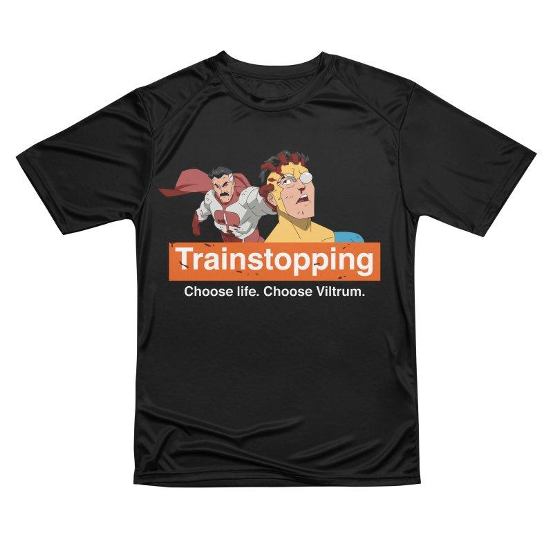 Trainstopping Men's T-Shirt by Rocketman