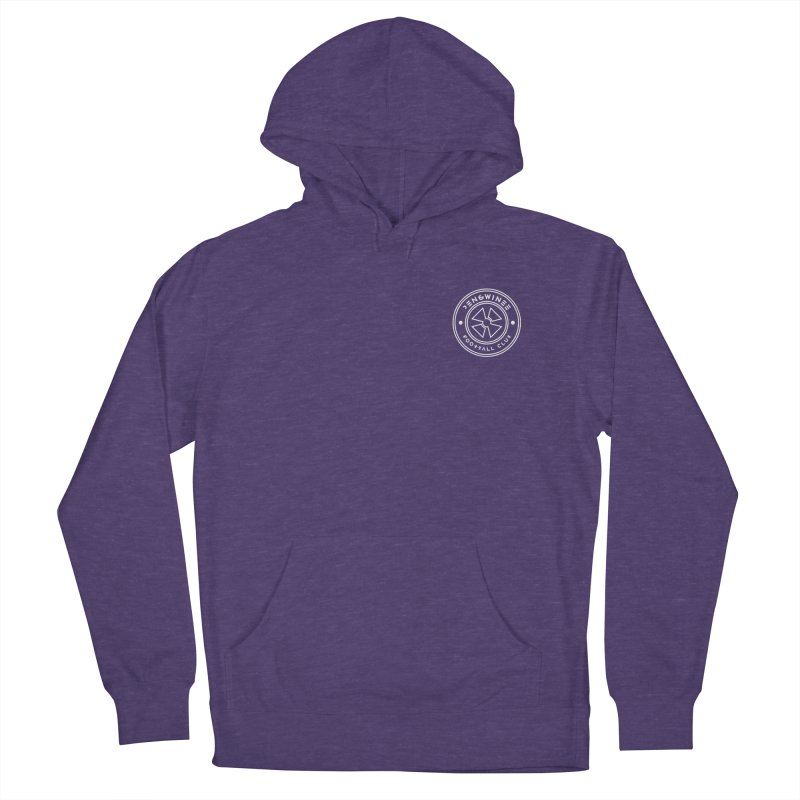 PENGWIN TEAM LOGO ON YOUR HEART Men's French Terry Pullover Hoody by THE PENGWIN OFFICIAL STORE