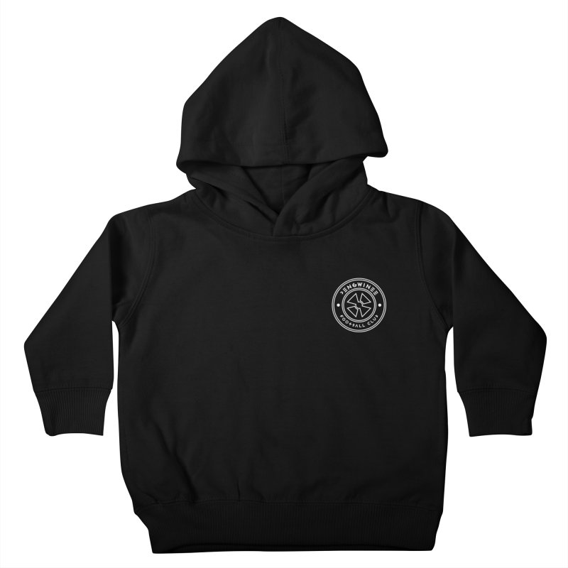 PENGWIN TEAM LOGO ON YOUR HEART Kids Toddler Pullover Hoody by THE PENGWIN OFFICIAL STORE