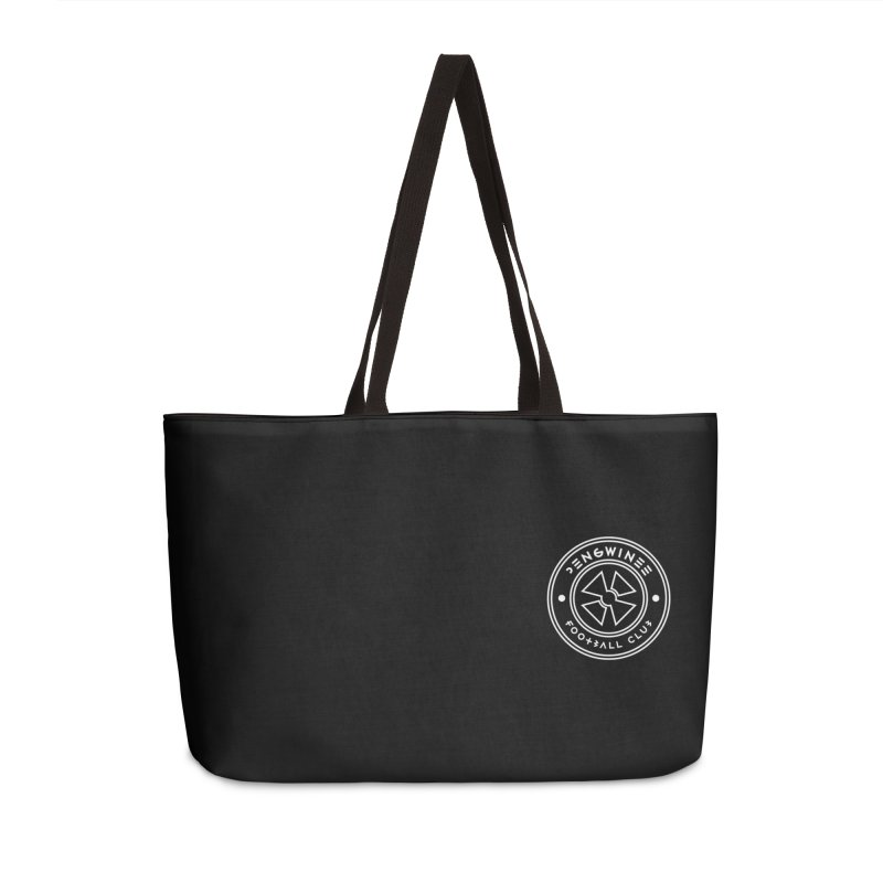 PENGWIN TEAM LOGO ON YOUR HEART Accessories Weekender Bag Bag by THE PENGWIN OFFICIAL STORE