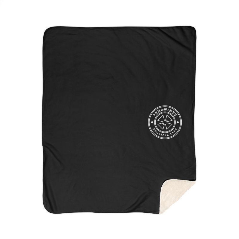 PENGWIN TEAM LOGO ON YOUR HEART Home Sherpa Blanket Blanket by THE PENGWIN OFFICIAL STORE