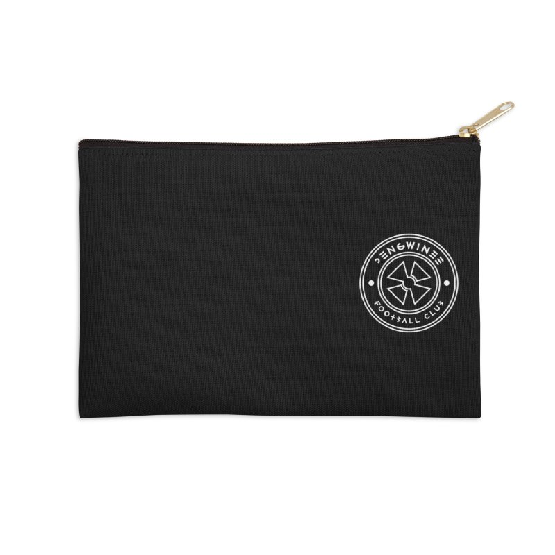 PENGWIN TEAM LOGO ON YOUR HEART Accessories Zip Pouch by THE PENGWIN OFFICIAL STORE