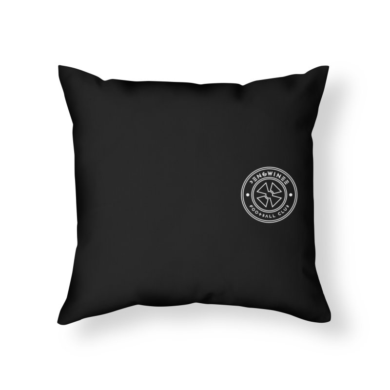 PENGWIN TEAM LOGO ON YOUR HEART Home Throw Pillow by THE PENGWIN OFFICIAL STORE