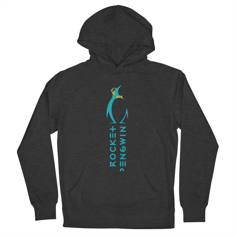 BIG LOGO OF THE PENGWIN Men's French Terry Pullover Hoody by THE PENGWIN OFFICIAL STORE