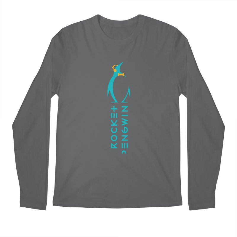 BIG LOGO OF THE PENGWIN Men's Regular Longsleeve T-Shirt by THE PENGWIN OFFICIAL STORE