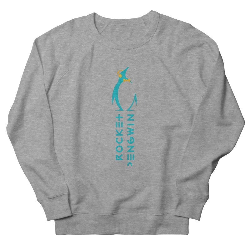 BIG LOGO OF THE PENGWIN Women's French Terry Sweatshirt by THE PENGWIN OFFICIAL STORE