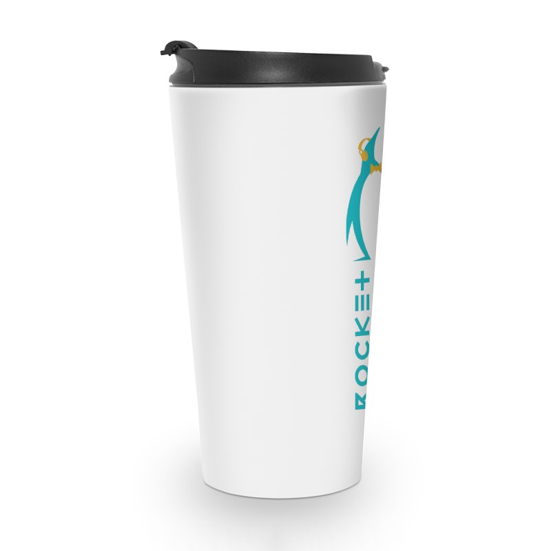 BIG LOGO OF THE PENGWIN Accessories Travel Mug by THE PENGWIN OFFICIAL STORE