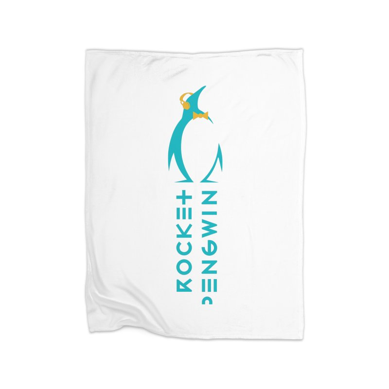BIG LOGO OF THE PENGWIN Home Fleece Blanket Blanket by THE PENGWIN OFFICIAL STORE